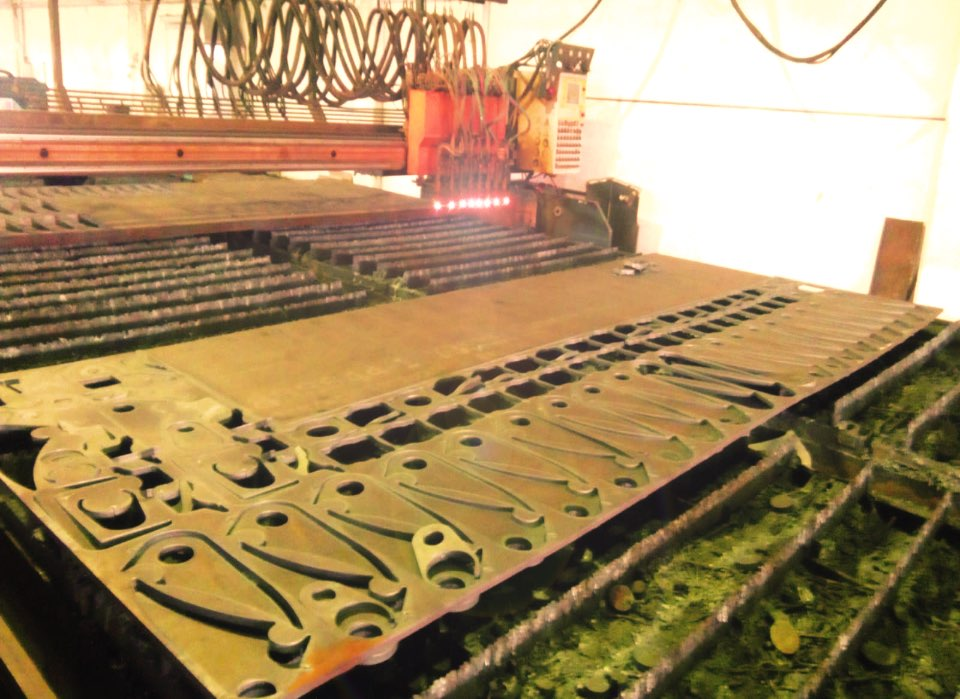 CPS STEEL - oxy fuel cutting